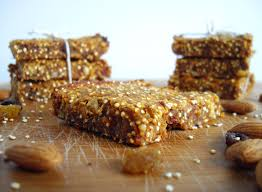 carrot cake quinoa bars cooking ala mel