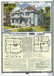 Mission House Plans 1920s Sears House Mission Style Home Plans Ebay