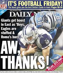 giants poised to feast on east as dallas philly carved up ny