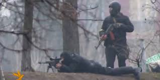 Radio Svoboda Tv No Protester Is Safe From Snipers Or Ak 47s In Ukraine Graphic