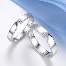 ring of men blue sweet rings half heart puzzle ring with cz