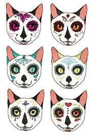 halloween background sugar skulls sugar skull animals google search muerto sugar skulls