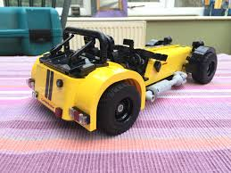 vauxhall lego we test the caterham seven 620r u2013 in lego autocar