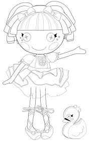 lalaloopsy colouring pages coloring pages