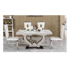 stainless steel table and chairs china dubai marble top stainless steel leg dining room table and