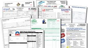 Hvac Estimate Template by General Contractor Forms Construction Home Remodeling Contracts