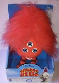 peluche plush pupazzo chicken alien disney occhi 20cm baby