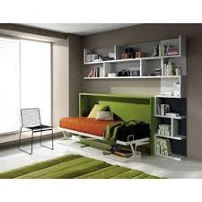 lit escamotable avec bureau armoire lit escamotable fleet avec bureau 90x190cm achat vente lit