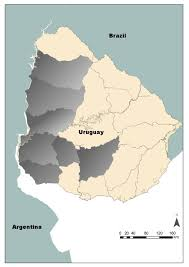 Map Of Uruguay Ijerph Free Full Text Detection Of Pesticides In Active And