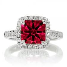 halo rings red images 1 5 carat princess cut ruby halo engagement ring jpg