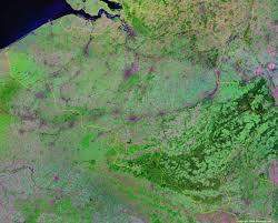 physical map of belgium belgium map and satellite image