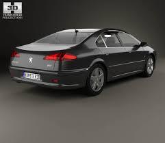 peugeot 607 coupe peugeot 607 2004 3d model hum3d
