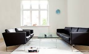 Wholesale Leather Sofa by Hans Wegner Ch102 Sofa Ch102 Leather Sofa Wholesale Furniture