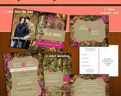 Camo Wedding Invitations Personalized Camo Wedding Invitations Camo Wedding Weddings And
