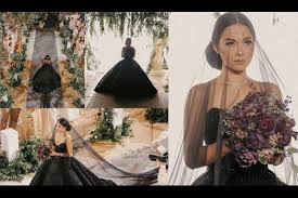 black wedding maja salvador in black philstar