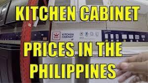 kitchen cabinet door price philippines kitchen cabinet prices in the philippines