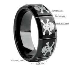 mens skull wedding rings 15 ideas of men s skull wedding bands