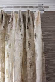 dining room sheer drapes in weitzner isis in creme