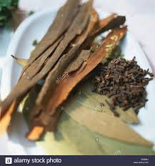 Cloves Cloves Cinnamon Bark And Bay Leaves Stock Photo Royalty Free