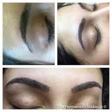 about 3d eyebrows tina u0027s permanent makeup and eyelash