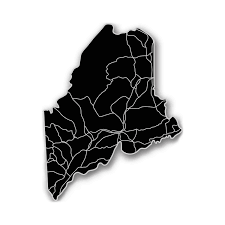 Maine State Map by Maine Acrylic Cutout State Map Modern Crowd Touch Of Modern