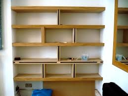 Interior Shelving Units Making Shelving Unit With Oak And Mdf Jpg Home Must Do U0027s