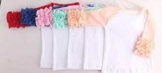 wholesale blank ruffle raglan tops in stock ruffle shirts