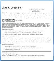 bookkeeper resume exles charge bookkeeper resume zippapp co