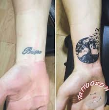 image result for wrist tattoo cover up body art pinterest