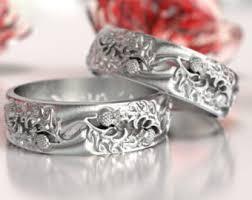 scottish wedding rings outlander wedding ring etsy