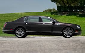 bentley dresses up new continental 2012 bentley continental flying spur speed first test motor trend