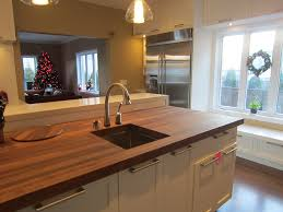 butcher block island sink delta pillar faucet delta touch u2026 flickr