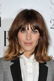 bob haircuts with center part bangs 222 best all things hair images on pinterest hair ideas