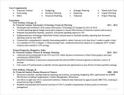 Resume For Financial Analyst Sample Financial Analyst Resume 11 Documents In Pdf Word