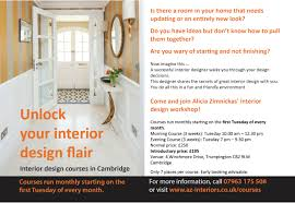 interior design courses in cambridge