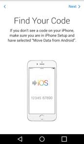 how to ios apps on android how to transfer data from android phone to iphone using move to