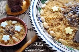 cuisine alg ienne constantinoise r fiss rfiss constantinois aux noix amandes et miel رفيس قسنطيني