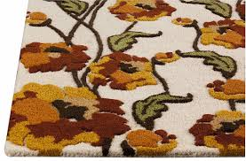Sunflower Rugs M A Trading Mat Orange Area Rug Style 2017