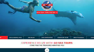 officially launching go sea belize website digital marketing