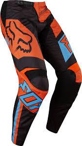fox motocross trousers 2017 fox falcon 180 hc motocross pants black orange 1stmx co uk