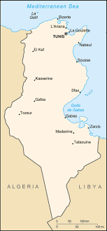 map of tunisia with cities tunisia geography population cities map flag gnp economy