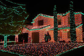 Christmas Decorated Houses Christmas Decorated Homes Los Angeles Home Decor