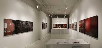 art show display lighting inspiration and originality underlined lighting for art shows