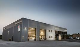 mercedes gloucester mercedes dealer rygor opens flagship branch in