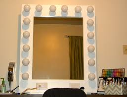 Makeup Table With Lighted Mirror Hollywood Style Mirror With Lights 135 Trendy Interior Or Retro