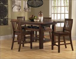 kitchen classy counter height dining sets teak wood dining table