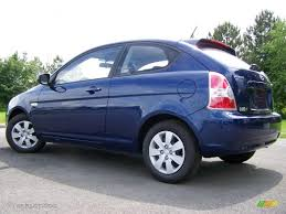 3 door hyundai accent 2010 sapphire blue hyundai accent gs 3 door 30894197 photo