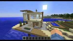 Modern Architecture Homes Modren Modern Architecture House Minecraft Pe In Decorating