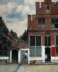 webmuseum vermeer jan view of houses in delft known as