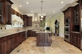 dark kitchen cabinets and tile floors u2013 quicua com
